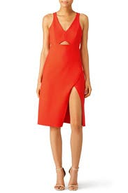Grenadine Red Dress by Halston Heritage for $40 - $60 | Rent the ...