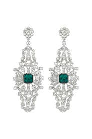 Emerald Entrance Earrings by Sequin