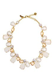 Crystal Chapel Cluster Necklace by kate spade new york accessories