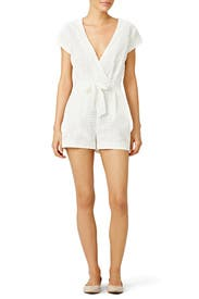 Nantucket Morning Romper by Twelfth Street by Cynthia Vincent