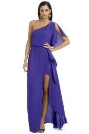 Kendal Ruffle Gown by BCBGMAXAZRIA