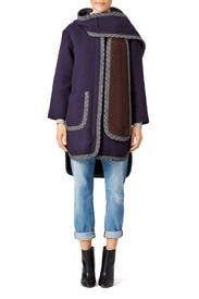 Hooded Scarf Coat by See by Chloe
