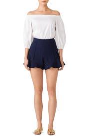 Really Josie Natori ruffled hem shorts Sale Pick A Best Shop Cheap Price Explore Sale Online c8cR4N0E2