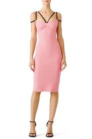Pink Brie Dress by La Petite Robe di Chiara Boni