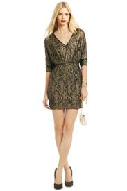 Gold On The Rocks Dress by Trina Turk