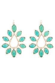 Nyla Emerald Earrings by Kendra Scott