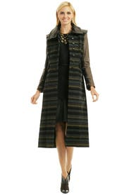 Striped Kutch Coat by rag & bone