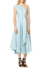 Mizu Poplin Dress by Tibi