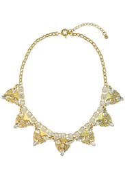 Citrine Statement Necklace by Slate & Willow Accessories
