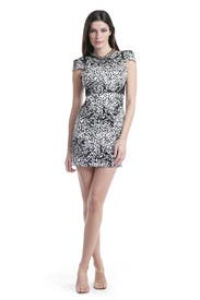 Snow Leopard Dress by Tibi