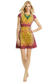 Balinese Dance Dress by Nanette Lepore