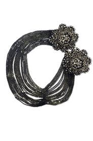 Black Dahlia Necklace by Vera Wang Accessories
