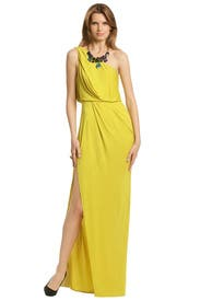 Lemon With Lime Gown by BCBGMAXAZRIA
