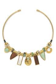 Azure Seas Collar by Lizzie Fortunato