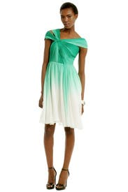 Corsican Mint Dress by Monique Lhuillier