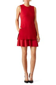 Red Malkan Dress by Theory for $65 | Rent the Runway