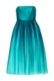 Teal Tea Dress by ML Monique Lhuillier