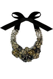 Night Bloom Necklace by Vera Wang Accessories
