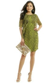 Python Frill Dress by Matthew Williamson