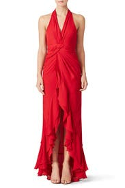 Red Century Gown by Parker