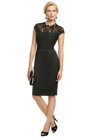 Bennett Lace Sheath by Lela Rose
