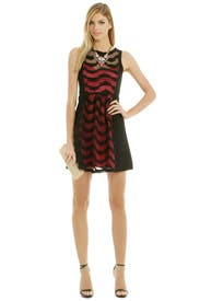 Fuschia Combo Frock Dress by Tracy Reese