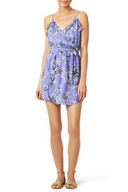 Foxglove Silk Dress by Joie