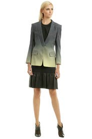 Ombre Leopard Weave Blazer by Matthew Williamson