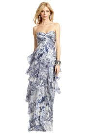 French Quarter Batik Gown by Carlos Miele