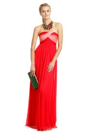 Citrus Kiss Gown by Carlos Miele