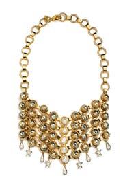 Masha Bib Necklace by Dannijo
