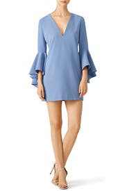 Blue Italian Nicole Dress by Milly