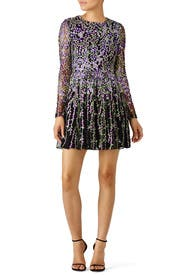 Purple floral dress by badgley mischka for 85 95 rent the runway purple floral dress by badgley mischka purple floral dress by badgley mischka mightylinksfo