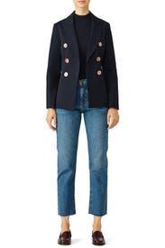 Blue Button Jacket by Derek Lam 10 Crosby