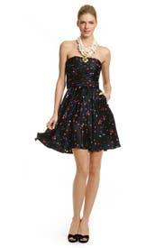 Confetti Dot Dress by Halston Heritage