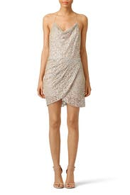 Lucky For You Lace Dress by Haute Hippie