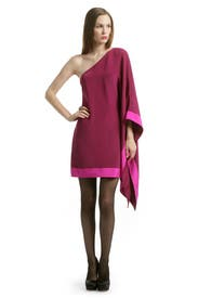 Pink Sapphire Poncho by Jay Godfrey