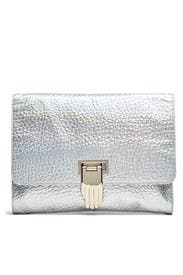 Silver Nokki Clutch by Opening Ceremony Accessories