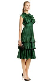 Doris Day Tiered Dress by Milly