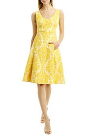 Honey Jacquard Dress by Tracy Reese