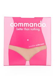 Seamless Nude Low-Rise Thong by Commando
