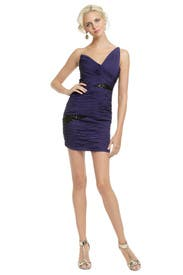 Purple Explosion Dress by Robert Rodriguez Black Label
