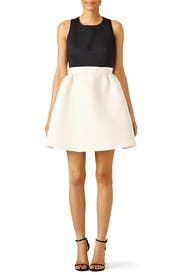 White Colorblock Dress by kate spade new york