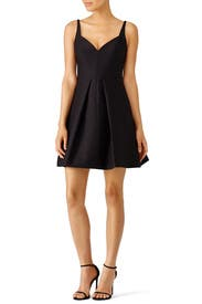 Black Sweetheart Dress by Halston Heritage for $45 - $80 | Rent ...