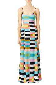Rainbow Flag Stripe Maxi Dress by Mara Hoffman for $60 - $75 ...
