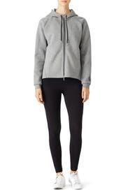 Grey Tech Fleece Hoodie by Nike