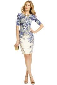 Blaue Blume Dress by Lela Rose