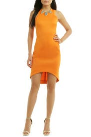 Future Basics Cut Away Dress by Josh Goot