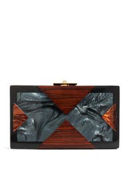 Alicia Chestnut Clutch by Rafé