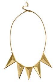 Gold Tetra Necklace by AV Max